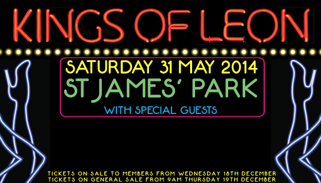 kings-of-leon-st-james-park-31-may-2014-poster